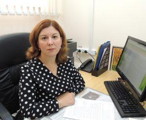 Начальник отдела опеки и попечительства Шашкова Ирина Александровна