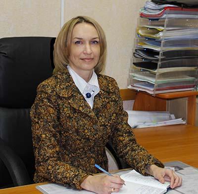 Начальник отдела Чернышова Галина Владимировна