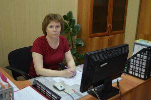 Начальник отдела выплат Сарафанникова Наталия Валерьевна