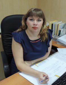 Начальник отдела Немова Елена Владимировна