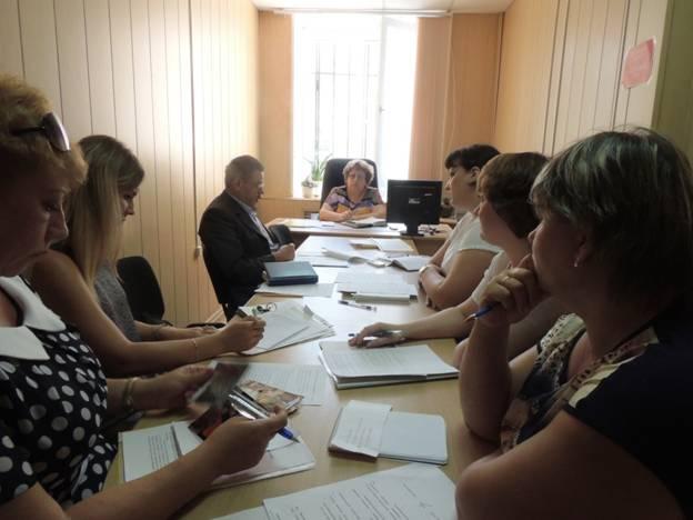 Члены рабочей группы по вопросам инвалидов